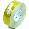 Reflecterend tape geel 50 meter