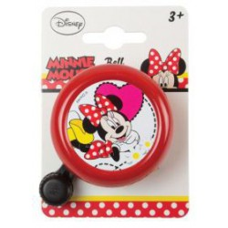 Fietsbel Minnie Mouse rood