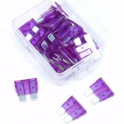 Steekzekeringen 3 ampere 25 stuks