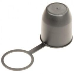 Trekhaakdop zwart met ring
