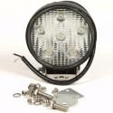 Werklamp 6 LED´s 12 en 24 volt