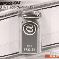 Batterij 9 volt blok