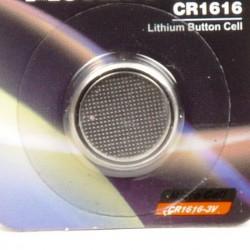 Batterij knoopcel CR1616