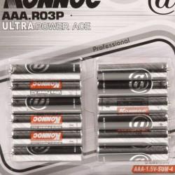 Batterijen AAA mini penlite 12 stuks