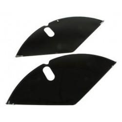Jasbeschermers classic zwart 28 inch
