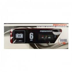 Acculader 12 volt 6 ampere absaar