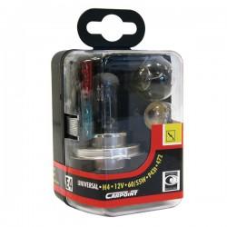 Reservelampenset H4 Carpoint