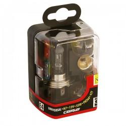 Reservelampenset H7 Carpoint compact