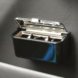 Asbak auto klein zwart