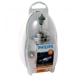 Autolampen set Philips Premium H4 Easykit