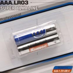Batterijen AAA mini penlite 2 stuks