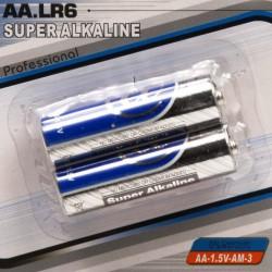 Batterijen AA penlite 2 stuks