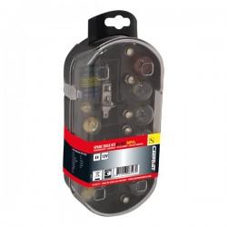 Reservelampen auto set H7 + H1 30 delig