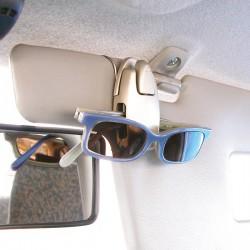 Brilhouder auto voor zonneklep