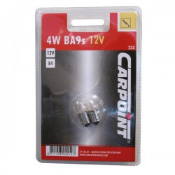 Autolamp 4W BA9s  12 volt bol