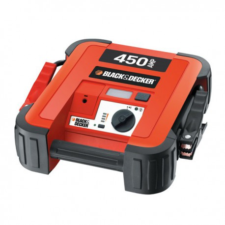 Jumpstarter 450 ampere Black and Decker
