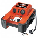 Jumpstarter + compressor 450 ampere Black and Decker