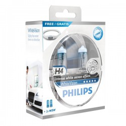 Autolamp set Philips White Vision H4