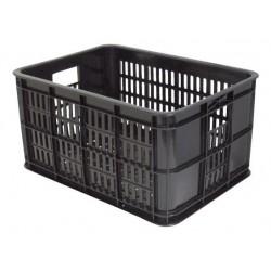 Fietskrat 25 liter Basil zwart
