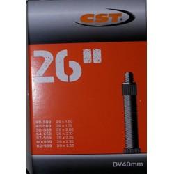 Binnenband fiets 26x1.50-2.50 CST frans ventiel