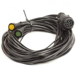 Achterlicht Multipoint kabelset 6.3 meter