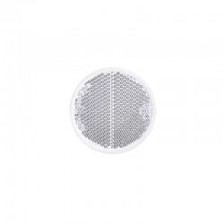 Reflector rond 60mm wit zelfklevend