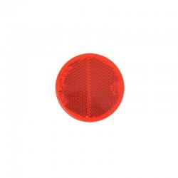 Reflector rond 60mm rood zelfklevend