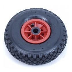Steekwagenwiel met luchtband