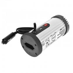 Omvormer + usb 12 volt naar 220 volt 180 watt