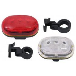 Fietslamp verlichtingset batterij LED