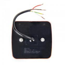 Achterlicht aanhanger 4 functies LED 98x105cm