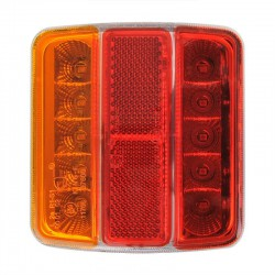 Achterlicht voor aanhanger LED verlichting op VoorAllesMetWielen.nl