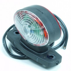 Breedtelamp LED halfrond
