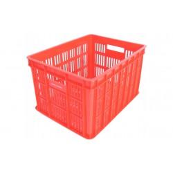 Fietskrat 26 liter rood