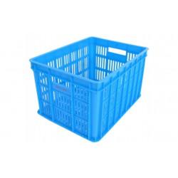 Fietskrat 26 liter blauw