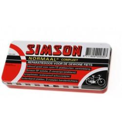 Simson bandenplakset reparatiedoos