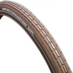 Buitenband fiets 28x1 5/8x1 3/8 CST Xpedium Ampero Bruin