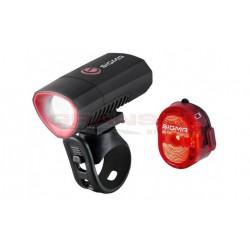 Sigma Buster 300HL  oplaadbare fietsverlichting set