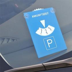 Parkeerschijf met zuignap