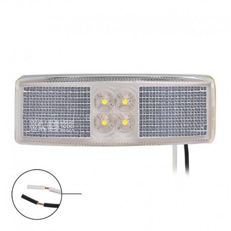 Zijmarkeringslamp LED wit 12 en 24 volt