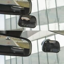 Binnenspiegel klein met zuignap en clip