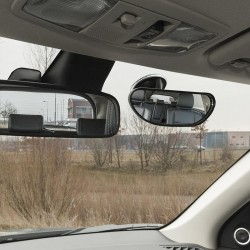 Binnenspiegel - achteruitkijkspiegel met zuignap