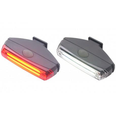 Fietsverlichting set LED Monorail