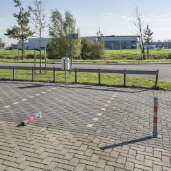 Parkeerpaal opklapbaar met slot