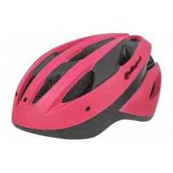 Fietshelm Polisport Medium Sportride roze mat