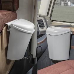Afvalbak met deksel voor camper/ caravan