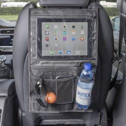 Autostoel organiser met tablethouder