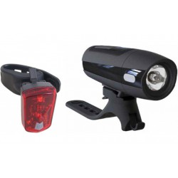 Razor USB oplaadbare fietsverlichting set 30 Lux
