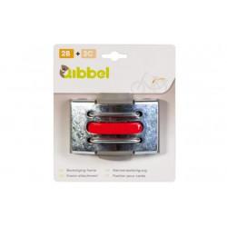 Qibbel bevestiging achterzitje frame adapter fiets