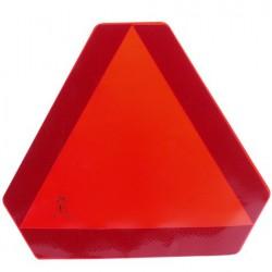 Sticker driehoek langzaam verkeer afgeknotte driehoek